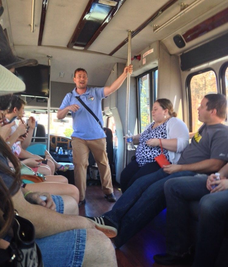 Custom Private Tours from the Magic Bus Tours